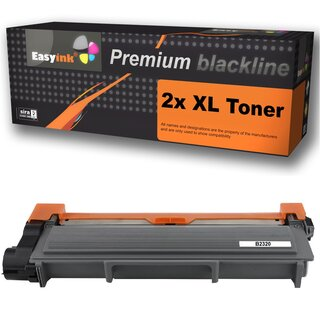 2 Alternative Toner zu Brother TN-2320 / TN-2310 / TN-660