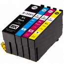 4 Alternativ PATRONEN Epson T3591 T3592 T3593 T3594 XL