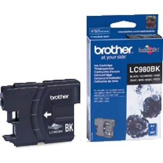 2 Original Brother LC-980BK Tintenpatronen Black